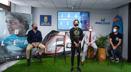 'Iballa corazón de escamas' recoge el lado más humano de la campeona del mundo de windsurf y paddle surf