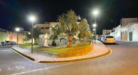 Finalizan los trabajos de renovación del alumbrado público en El Ejido y Los Alberconcillos.