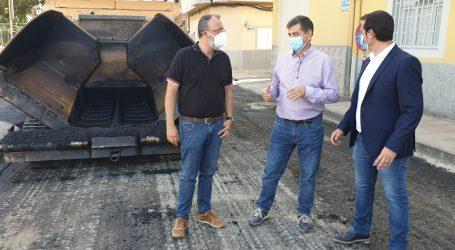 Comienzan las  obras de reasfaltado de Casa Pastores con un presupuesto de 200.000 euros