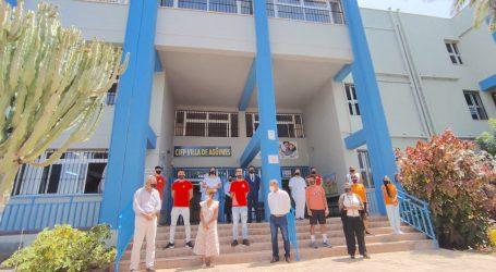 El CIFP Villa de Agüimes anima a los alumnos del PFAE de Mogán a continuar con su formación reglada.