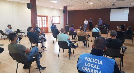 Policías locales de Gran Canaria se forman en el municipio en el manejo de los nuevos drogotest