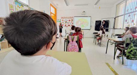 Protección Civil promueve la prevención de los incendios forestales en los centros escolares.