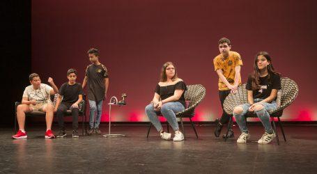 Poemas de Pedro García Cabrera, en el fin de curso de Teatrae