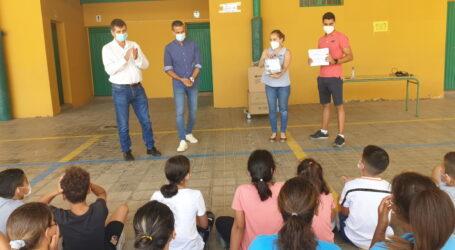 Santa Lucía premia los trabajos audiovisuales de defensa de los Objetivos de Desarrollo Sostenible hechos por estudiantes del municipio