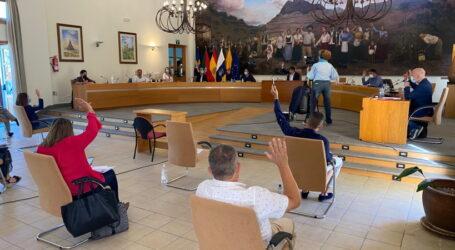 El pleno de Santa Lucía aprueba nuevas obras públicas para los próximos dos años con  una inversión de  casi 2.3 millones de euros