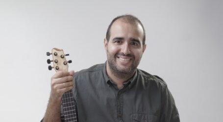 El timplista Yone Rodríguez presenta el disco 'Semilla' en el ciclo de conciertos 'Patios encantados solidarios'