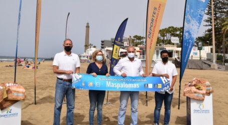 El Faro de Maspalomas se cita con 220 swimrunners