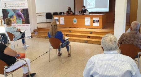 Las personas mayores de Santa Lucía cuentan con una página web que divulga la información y promueve su participación