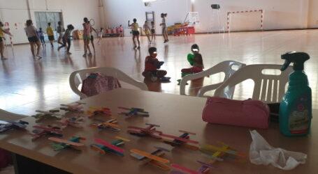 Más de 500 niños y niñas se matriculan en los campus de verano organizado por los clubs deportivos del municipio