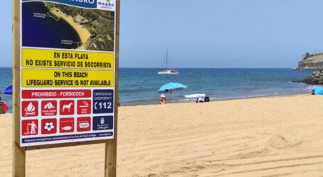 El Ayuntamiento de Mogán abre la playa de Tauro este viernes