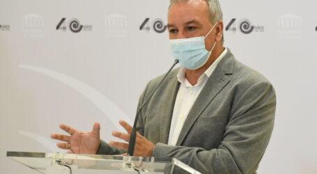 """Luis Campos advierte de que """"no vamos a dar un paso atrás"""" en la lucha contra la violencia machista"""