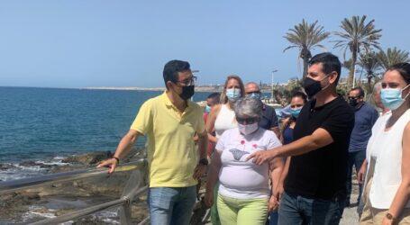 Coalición Canaria denuncia el abandono del Gobierno de Torres en la mejora de las zonas turísticas