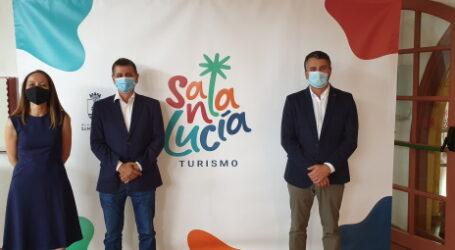 Santa Lucía presenta su nueva marca turística  y una web que promociona  el  turismo de calidad y referente del desarrollo sostenible