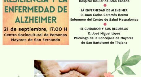 La Concejalía de Mayores organiza unas jornadas para conmemorar el Día Mundial del Alzheimer
