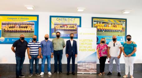 ECOENER FIRMA CON CASTILLO CLUB DE FÚTBOL UN ACUERDO DE COOPERACIÓN SOCIAL