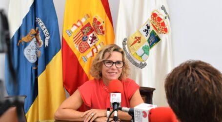 Conchi Narváez revoca las competencias a C.C. en RRHH