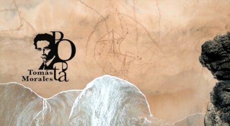 Un barco de gran formato en la arena, nuevo dibujo del artista José Assima para rendir homenaje a Tomás Morales