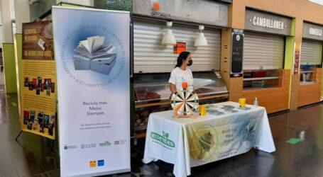 El Ayuntamiento de Las Palmas de Gran Canaria continúa con su campaña de sensibilización ambiental y correcta gestión de residuos en el Mercado de Vegueta