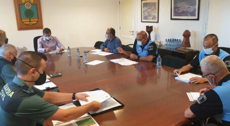La Junta de Seguridad de  Santa Lucía decide mejorar la coordinación y el acceso a bases de datos entre la Policía Local y la Guardia Civil